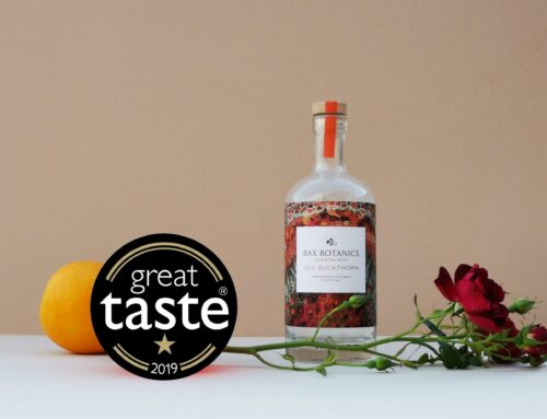 We Won a star from the Great Taste Awards!