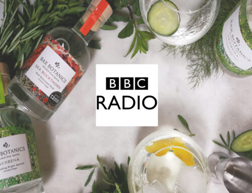 Come and listen to our co-founder Chris Bax talking botanicals, drinks and the planet on BBC radio.