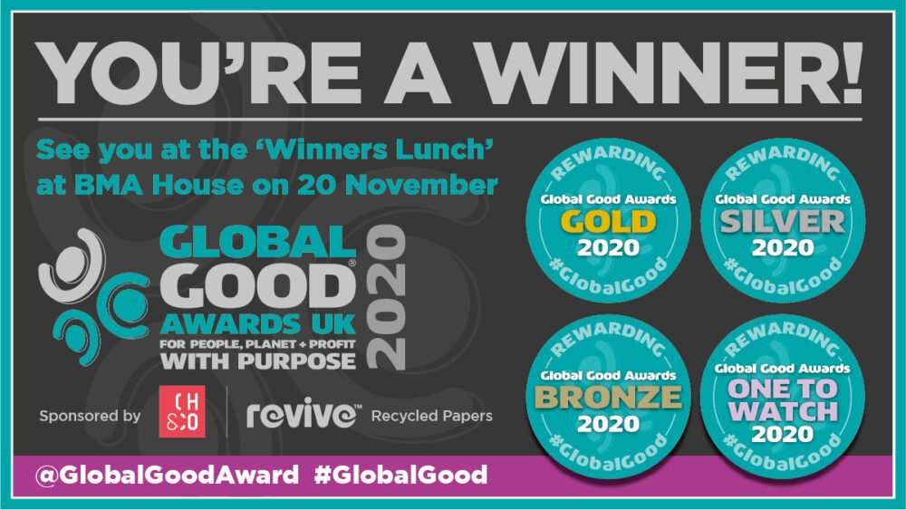 Global good award winner 2020