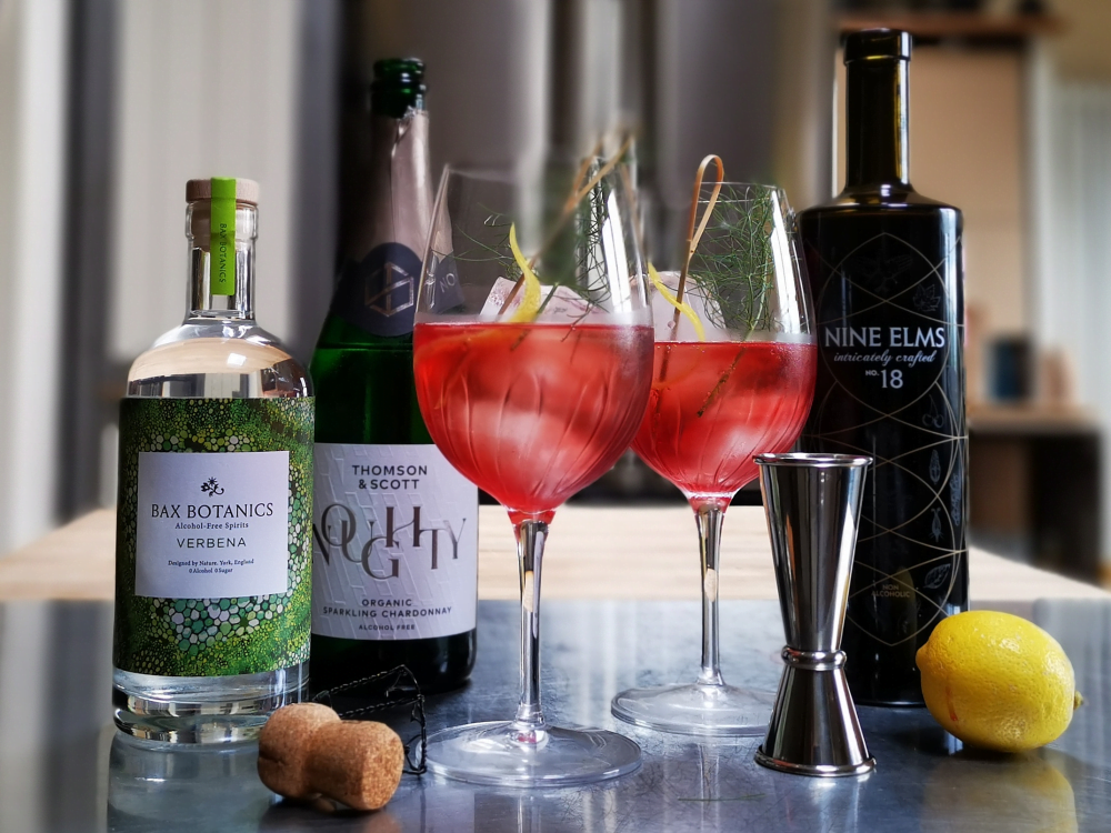 alcohol free cocktail brand collaboration