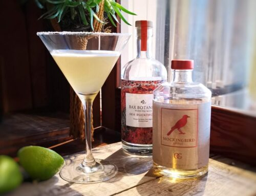 Bax and Mockingbird Margarita collaboration