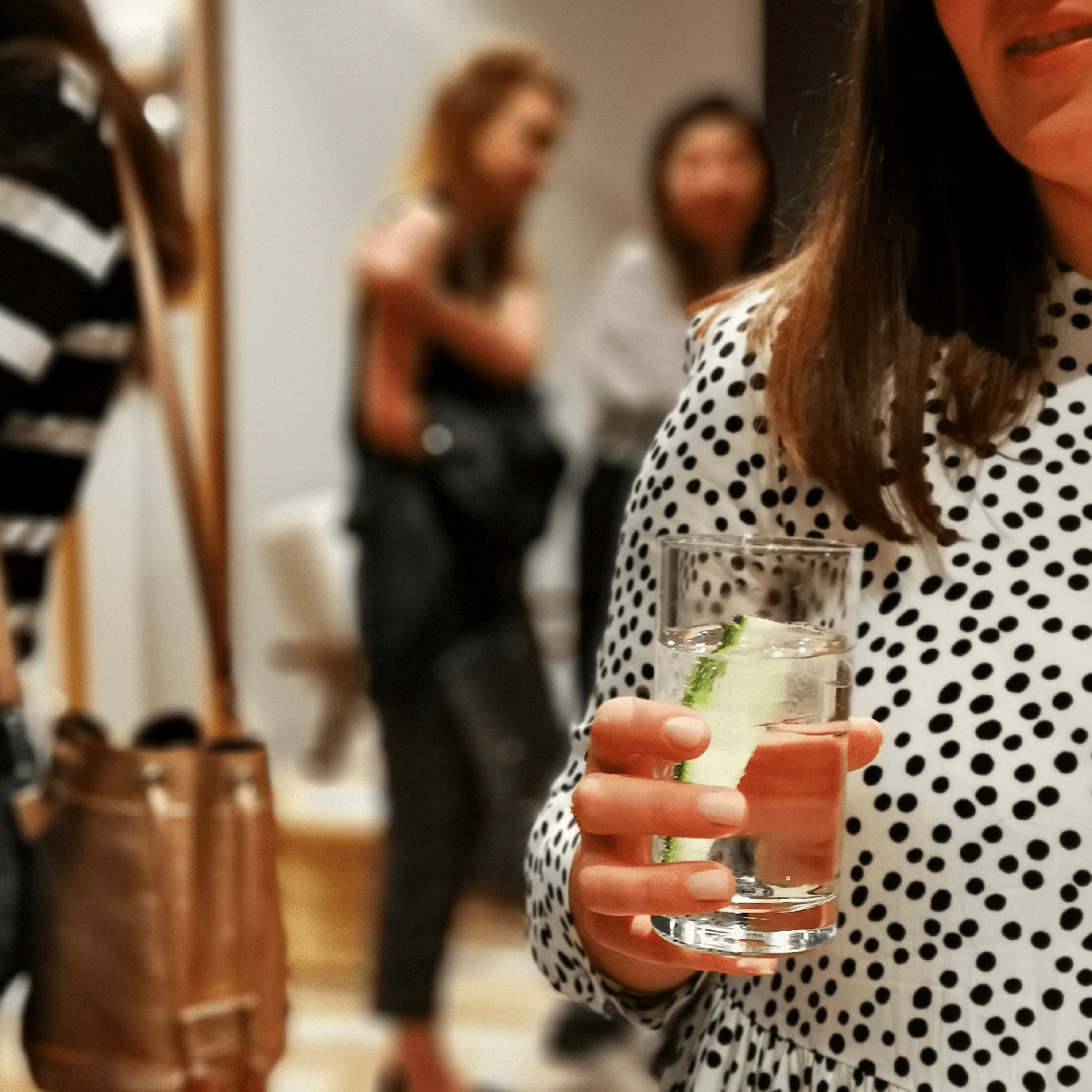 verbena and tonic in hand