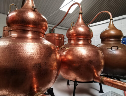 Introducing our two new copper pot stills!