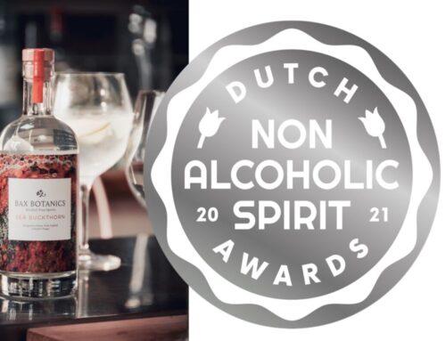 A Silver Medal! Dutch Non-alcoholic Spirit Awards